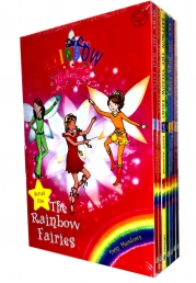 Rainbow Magic - Series 1 Colour Fairies Collection 7 Books Box Set (Books 1 to 7) by Daisy Meadows