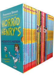 Horrid Henry Books Collection 30 Books Box Gift Set Francesca Simon Photo