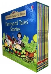 Usborne Farmyard Tales 20 Books Collection Box Gift Set Photo
