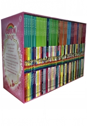A Year of Rainbow Magic Boxed Collection 52 Books Set Photo