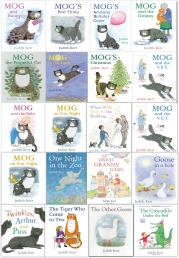 Judith Kerr Mog the Cat Collection 20 Books Gift Set Pack by Judith Kerr