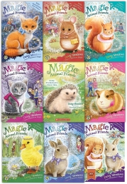 Magic Animal Friends Collection Daisy Meadows 9 Books Set Photo