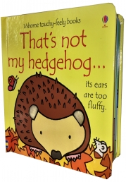 Thats Not My Hedgehog (Touchy-Feely Board Books) by Fiona Watt, Rachel Wells