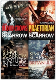 Eagles of the Empire Series Simon Scarrow 4 Books Collection Set Photo
