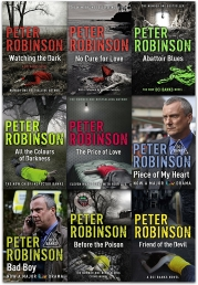 The DCI Chief Inspector Banks Peter Robinson 9 Books Collection Set Photo