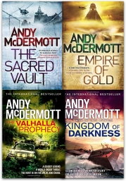 Andy McDermott Collection Wilde Chase 4 Books Set by Andy McDermott