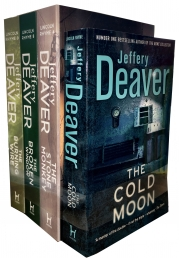 Jeffery Deaver Collection Lincoln Rhyme 4 Books Set Photo