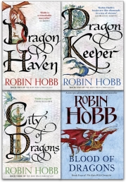 Robin Hobb The Rain Wild Chronicles Trilogy Collection 4 Books Set by Robin Hobb