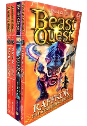 Beast Quest Series 14 The Cursed Dragon Collection Photo