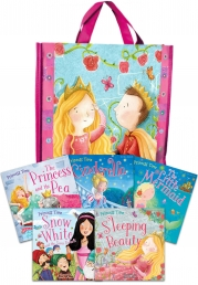 Princess Time Collection 5 Books Set in a Bag Children Gift Pack by Miles kelly