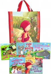My Fairytime Tales 5 Books Collection Children Gift Set in a Bag by Miles kelly