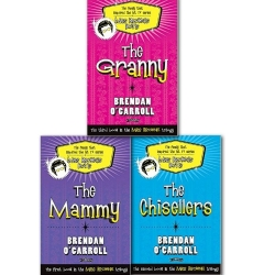 Brendan O'Carroll Mrs Browne Trilogy Collection 3 Books Set(The Family that inspired the hit TV Series), (The Granny, The Chisellers and The Mammy) by Brendan O Carroll