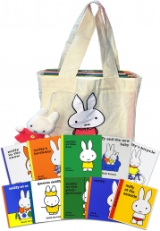 Miffy Collection with Plush Toy Dick Bruna 10 Books Set in a Bag Childrens Gift by Dick Bruna