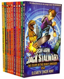 Secret Agent Jack Stalwart 10 Books Collection Set by Elizabeth Singer Hunt