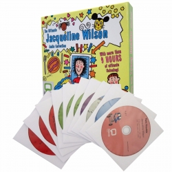 Jacqueline Wilson Audio Collection 10 CDs Box Set Pack by