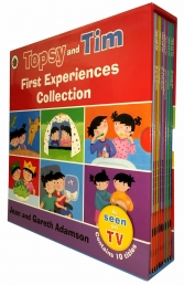 Topsy and Tim First Experiences Collection 10 Books Box Set Photo