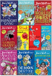 David Walliams 10 Books Collection Set Photo