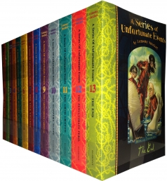 Lemony Snicket, A Series of Unfortunate Events Complete Collection 13 children books set, a perfect childrens gift set by Lemony Snicket