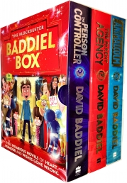 The Blockbuster Baddiel Box 3 Books Collection Box Set Photo