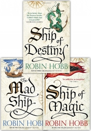 Robin Hobb The Liveship Traders Trilogy Collection 3 Books Set Photo