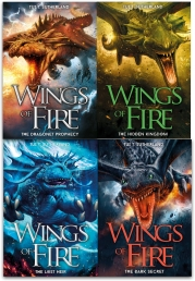 Wings of Fire Collection Tui T. Sutherland 4 Books Set by Tui T. Sutherland