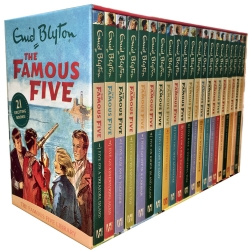 Enid Blyton Books FAMOUS FIVE Series 21 Books Photo