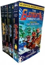 The Elementia Chronicle 4 Book Collection Set for Minecraft Unofficial Adventure Photo