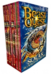 Beast Quest Series 12 The Darkest Hour 6 Books Collection Set (Books 67-72) by Adam blade