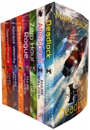 Mark Walden H.I.V.E 8 Books Collection Set Pack (H.I.V.E., The Overlord Protocol, Escape Velocity, Dreadnought, Rogue, Zero Hour, Aftershock, Deadlock by Mark Walden