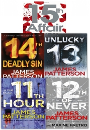 James Patterson Women's Murder Club Series 5 Books Collection Set (11-15) by James Patterson