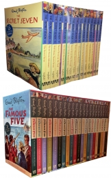 Enid Blyton Famous Five and Secret Seven 36 Books Collection Set Pack by Enid Blyton