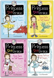 Princess Disgrace 4 Books Set Collection By Lou Kuenzler Photo