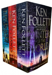 Ken Follett Century Trilogy Series Collection 3 Books Set - Fall of Giants, Winter of the World , Edge of Eternity