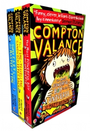 Compton Valance 3 Book Collection Pack Set By Matt Brown (Most Powerful Boy in Universe, Time Travelling Sandwich Bites Back, Super Farts versus Time) by Matt Brown