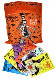 Winnie and Wilbur Collection Spooky Bag of Books 6 Books Set Pack Photo