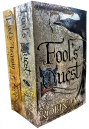 Robin Hobb Fitz and the Fool Collection 2 Books Set (Fools Assassin, Fools Quest) Photo