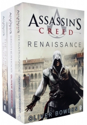 Assassins Creed 3 Books Collection set Volume 1 to 3 by Oliver Bowden (Renaissance, Brotherhood, The Secret Crusade) Photo
