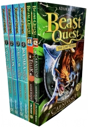 Beast Quest Series 7 6 Books Collection Pack Set Photo