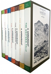 Pictorial Guide To the Lakeland Fells Collection 7 Books Set By Alfred Wainwright (50th Anniversary Edition) Photo