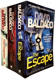 David Baldacci Will Robie Series 3 Books Collection Set Photo