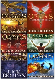 Heroes of Olympus Collection Rick Riordan 6 Books set by Rick Riordan