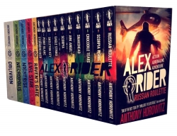 Anthony Horowitz 15 Books Collection Alex Rider & Power of Five Series Set Pack Photo