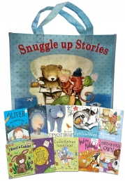 Snuggle Up Stories Collection 10 Books Set in Bag Photo