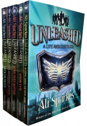 Ali Sparkes Unleashed Series Collection 5 Books Set by Ali Sparkes