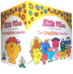 Little Miss The Complete Collection 37 Books Box Set Pack by Roger Hargreaves by Roger Hargreaves