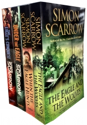Simon Scarrow Eagles of the Empire Series 4 Books Collection Set Photo