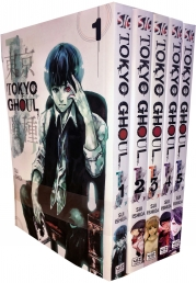 Tokyo Ghoul Volume 1-5 Collection 5 Books Set (Series 1) Photo