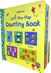 Usborne Lift the Flap Counting Book (Usborne Lift-the-Flap-Books) Photo