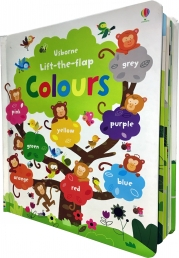 Usborne Lift the Flap Colours Book (Usborne Lift-the-Flap-Books) Photo