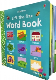 Usborne Lift the Flap Word Book (Usborne Lift-the-Flap-Books) Photo